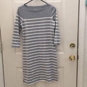 L.L. Bean 3/4 Sleeve Dress
